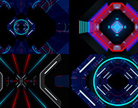Neon Gate - VJ Loop Pack (3in1)