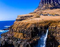 Gásadalur in Faroe Island