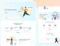 Creatodo - Web App Landing Page