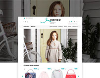 UX/UI/WEB for «Incomer» Ukraine, Kiev