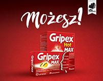 GRIPEX - Możesz! | Print campaign