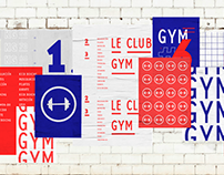 Le Club Gym — Identidad