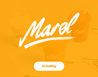 Marel Branding / Фирменный стиль Marel