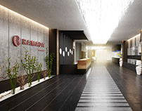 RAMADA Lobby and Cafe Designed by Vogue Architects