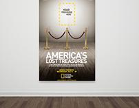 Nat Geo's America's Lost Treasures Poster & Art