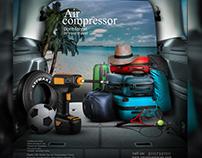 social media ads air compressor