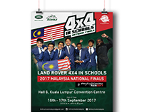 4x4 in Schools 2017 Malaysia National Finals