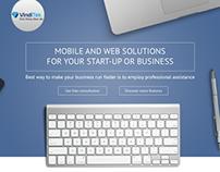 Landing page | Продажа услуг веб-разработчиков