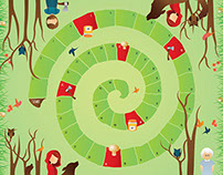 Board Game - Red Ridding Hood