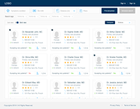 Physicians Portal Wireframes