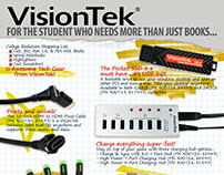 "Print Design: VisionTek ""Bookstore"" Flyer"