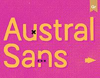 Austral Sans — typeface