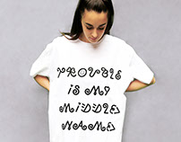 Queertype t-shirts