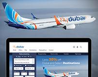 flydubai Social, Web and Google Adwords banner campaign