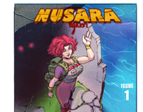 Nusara book cover mock up