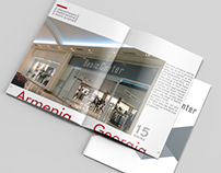 Company presentation brochure design