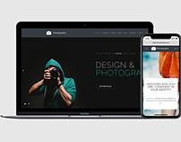 Photography WordPress Theme - Website Builder