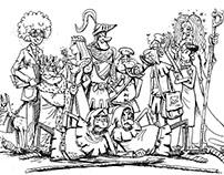 Carobnjak Dandruf i Izgubljena knjiga