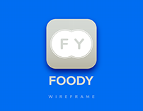 Foody Wireframe version