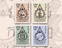 Khmer American Stamps