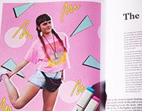 Fashion editorial illustration for Hessian Magazine
