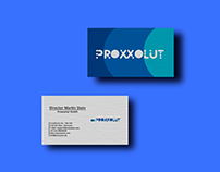 Logo and business card design for a trading company
