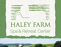 Haley Farm Rack Card