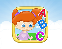 """English for Infants"" – App icon for Kids"