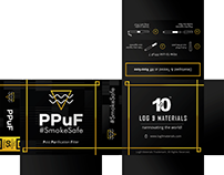 Log9Materials - Cigarette filter packaging/branding