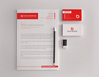 Stationery design for Formula-O