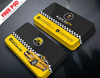 Taxi Driver and Identity Card Free PSD