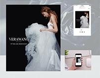 2015 Vera Wang Bridal Web And Mobile Advertising