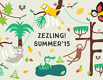 Zezling! Summer Campaign 2015