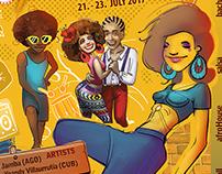 Dance festival promo materials