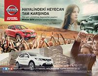 Nissan SUV ilanı