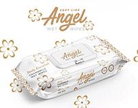 🇽🇰 Angel - Wet wipes - Packaging Design