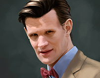 Pintura Digital - Matt Smith
