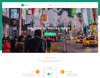 Idea Theme Web Design | Personal Project