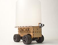 OsCar der selbstfahrende Mülleimer