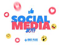 Social Media 2017 - Bike Plus