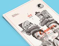 Boceto Poster: Trilogía del comer y otras cosas.