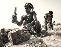 ETHIOPIA: The saltworkers of the Danakil Depression
