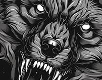 Gray Fox T-shirt Designs