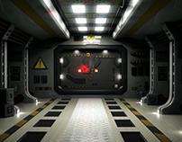SciFi Door Transition
