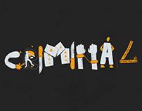#36daysoftype / Criminal Typography