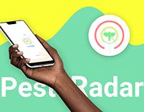 PEST RADAR - App to detect Locust Attack