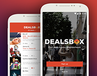 Dealsbox App design
