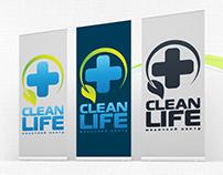 "Logo for medical center ""Clean Life"""