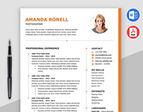 Free Timeline Word Resume Template