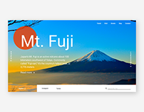 Japanese Visitor Attraction Web Designs
